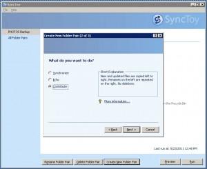 Contribute - SyncToy