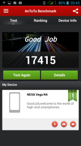 Nexa N4 - Benchmark - Antutu 0