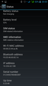 Nexa N4 - WiFi MAC Address Bug 1 of 2