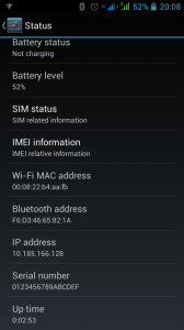 Nexa N4 - WiFi MAC Address Bug 2 of 2